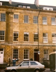 The Topham family's stunning home in Bath, where we stopped off before going on our mystery tour