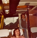 Coming 'out of the closet' on the tour bus.