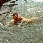 Jut a quick dip! It was fucking freeeezing