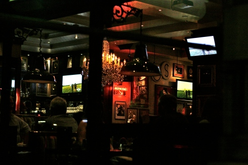 The Interior Of London's Hard Rock Cafe