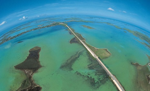 THE HIGHWAY THAT GOES TO SEA CONNECTS KEY WEST TO THE MAINLAND OF FLORIDA