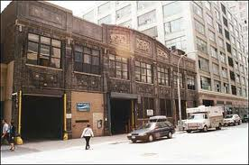 The Paradise Garage Building By Day,